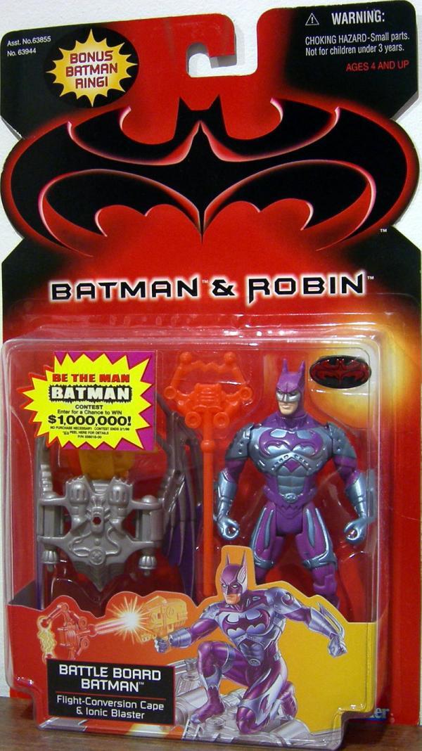 Battle Board Batman Batman Robin, bonus Batman ring
