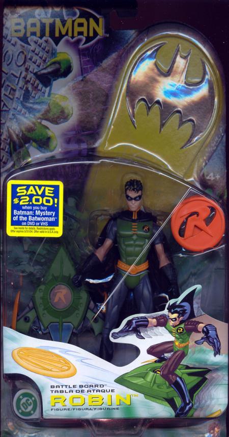 Battle Board Robin Figure Repaint Batman