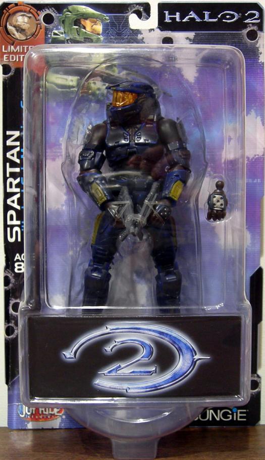 Battle Damaged Blue Spartan Halo 2, Limited Edition