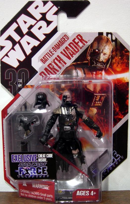 Battle-Damaged Darth Vader Star Wars 30th Anniversary action figure