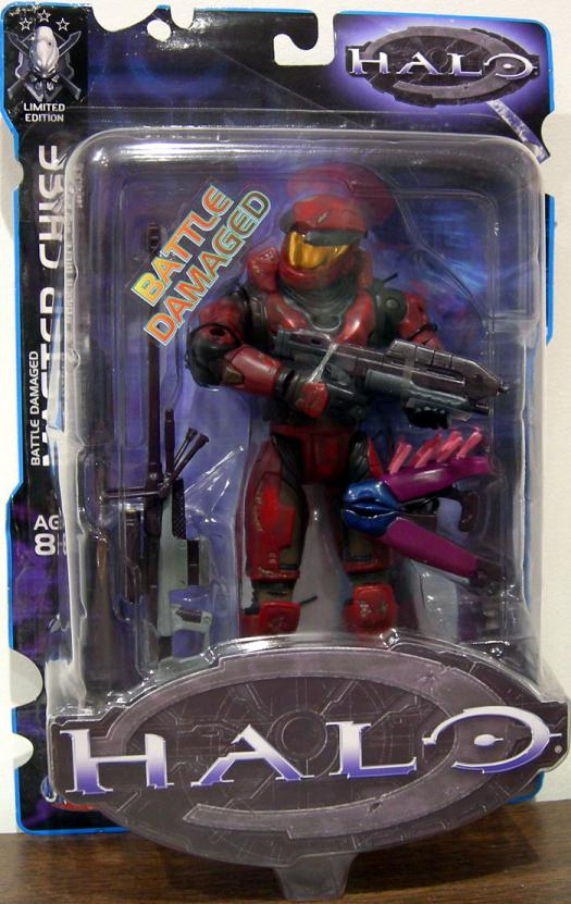 Battle Damaged Master Chief Limited Edition, maroon