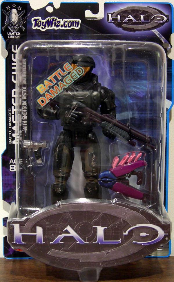 Battle Damaged Master Chief Halo Toywiz Exclusive action figure