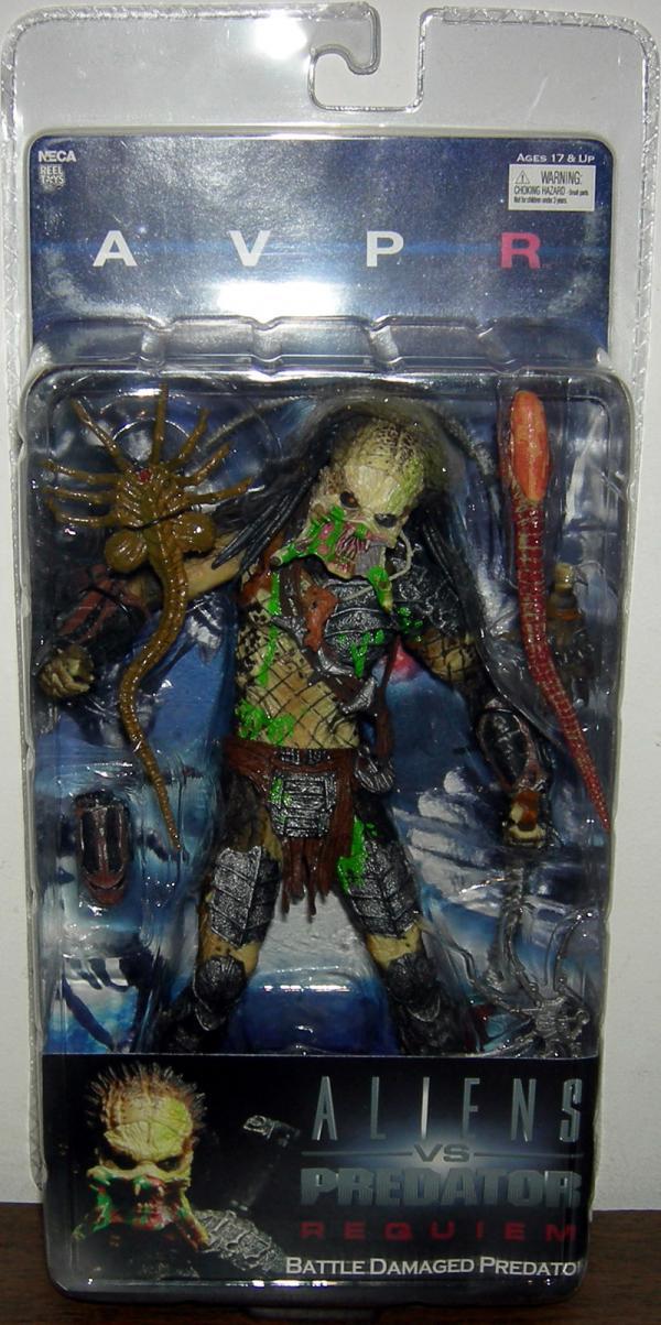 Battle Damaged Predator unmasked