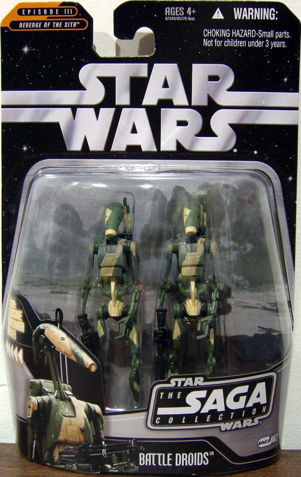 Battle Droids Figures Saga Collection 062 Star Wars