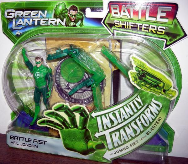 Battle Fist Hal Jordan