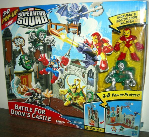 Battle Dooms Castle Super Hero Squad