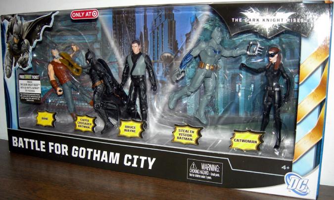 Battle Gotham City 5Pack Dark Knight Rises, Target Exclusive