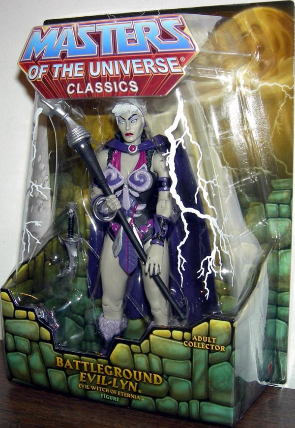 Battleground Evil-Lyn Action Figure Masters of the Universe Classics Mattel