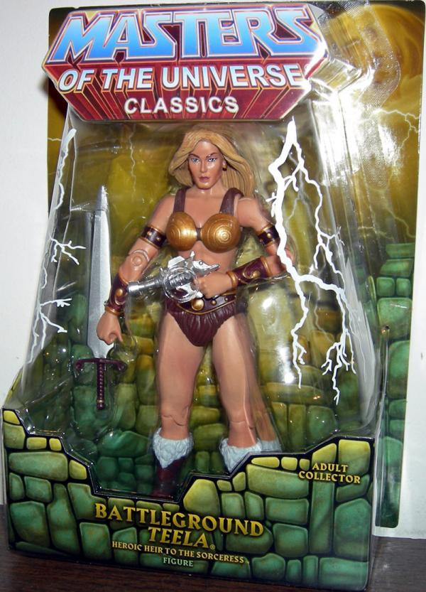 Battleground Teela Action Figure Masters of the Universe Classics