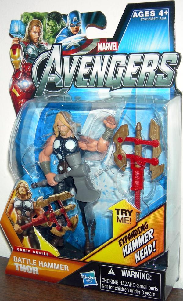 Battle Hammer Thor 02 Avengers