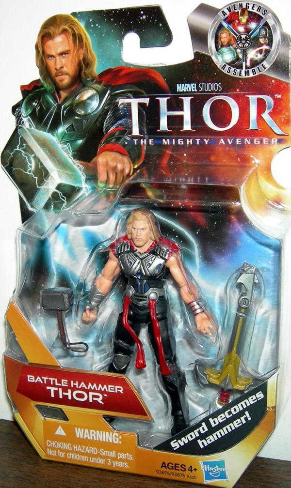 Battle Hammer Thor Movie action figure