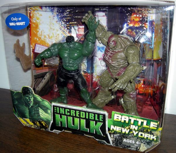 Battle in New York 2-Pack Incredible Hulk vs Abomination