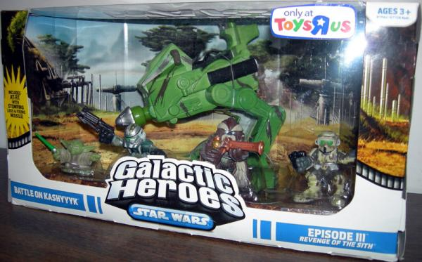 Battle Kashyyyk 5-Pack Galactic Heroes