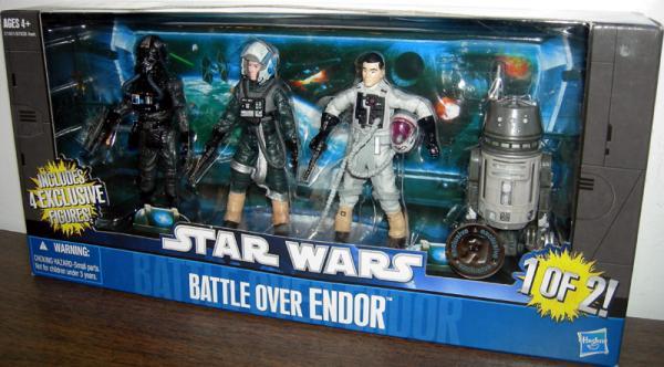Battle Over Endor 4-Pack Action Figures 1 of 2 Hasbro