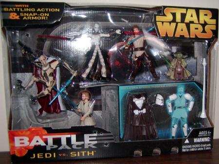 Jedi vs Sith Battle 5-Pack