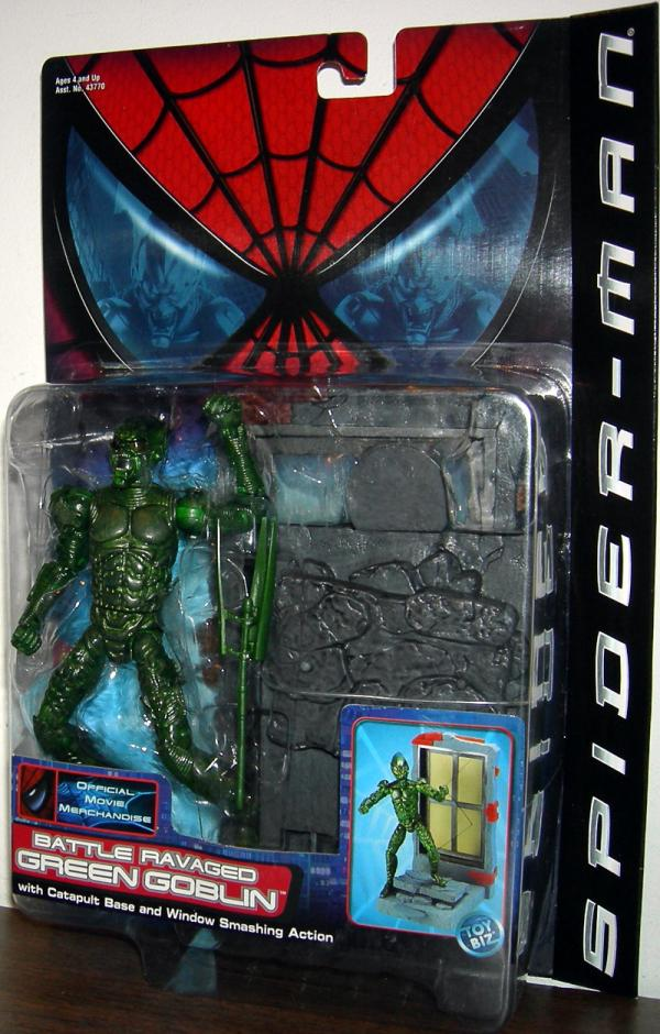 Battle Ravaged Green Goblin Spider-Man Movie action figure