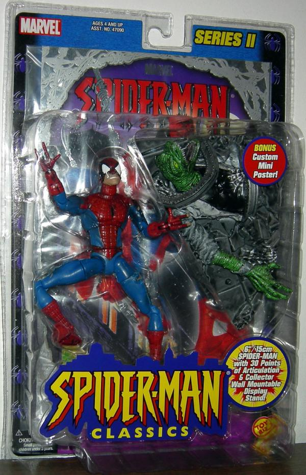 Battle Ravaged Spider-Man Classics Mini Foil Poster action figure