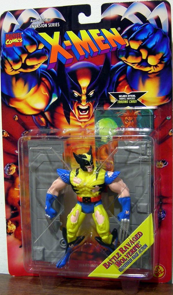 Battle Ravaged Wolverine
