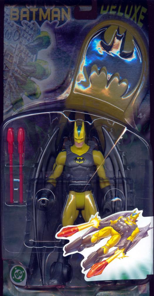 Battle Sled Batman Figure Deluxe Mattel