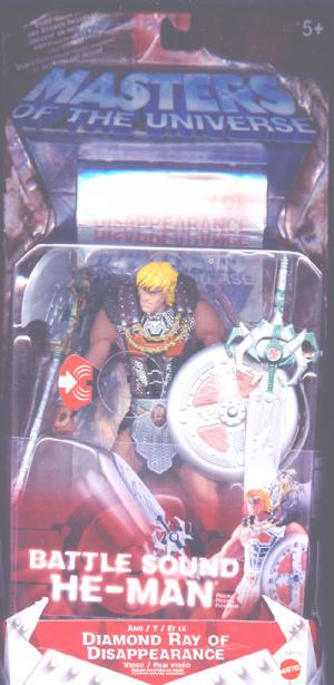 Battle Sound He-Man Diamond Ray Disappearance