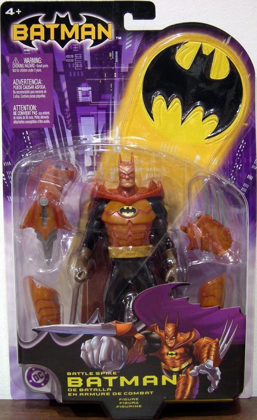 Battle Spike Batman action figure