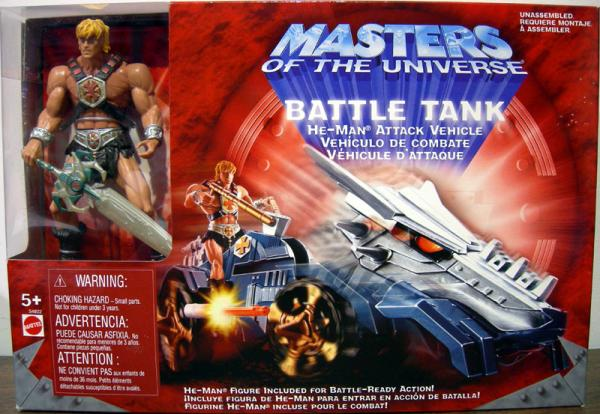 Battle Tank He-Man Attack Vehicle Masters Universe action figure