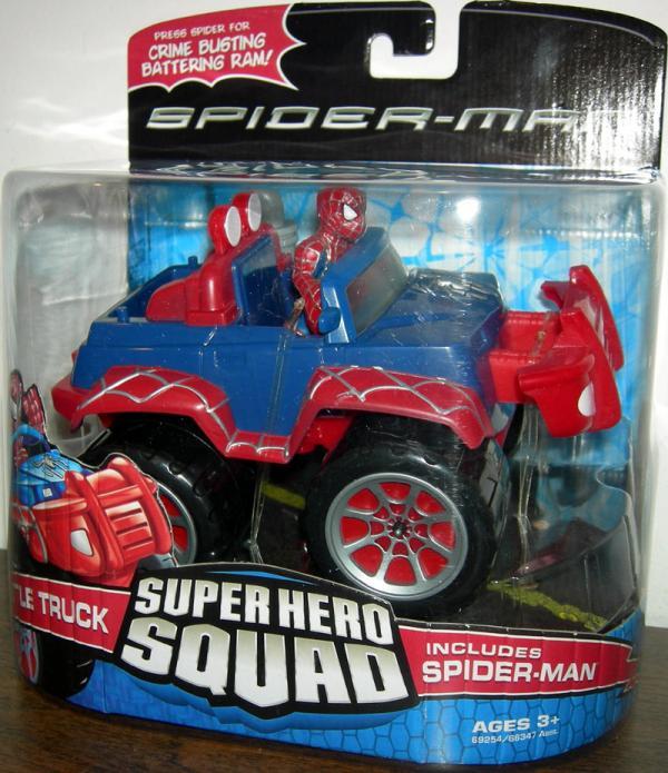 Battle Truck Super Hero Squad