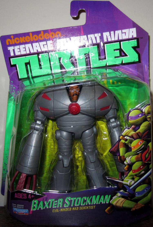 Baxter Stockman Action Figure Nickelodeon Teenage Mutant Ninja Turtles TMNT