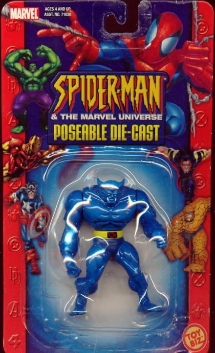 Beast poseable die-cast