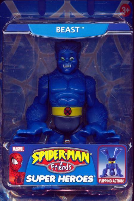 Beast Spider-Man Friends