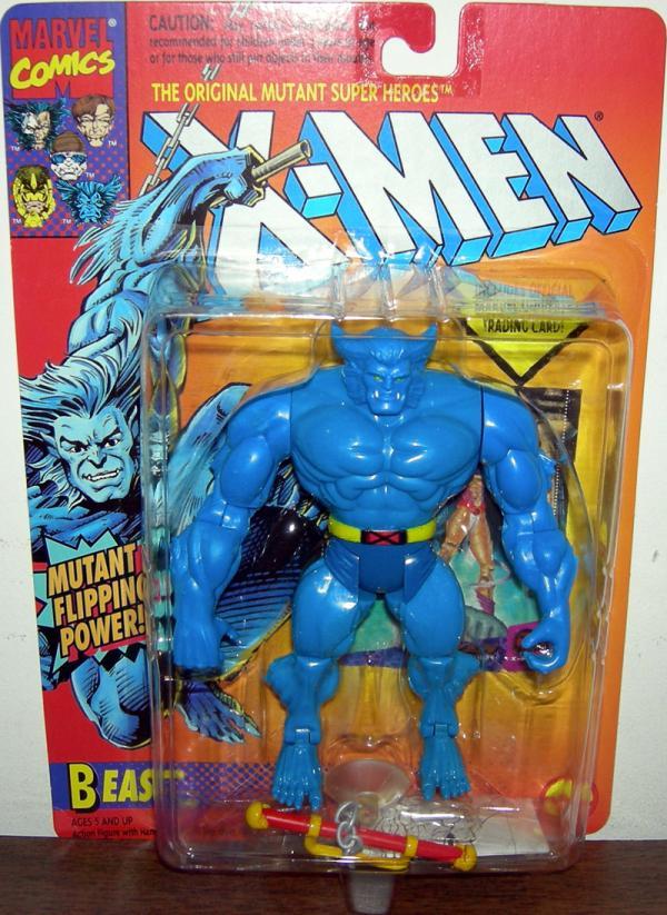 Beast Figure Mutant Flipping Power X-Men Toy Biz