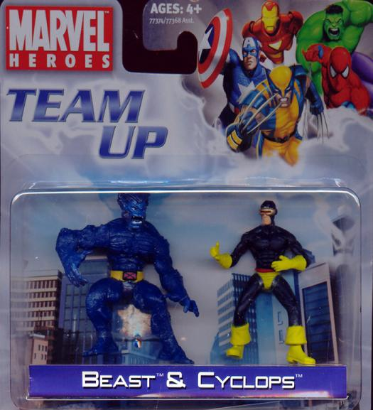 Beast Cyclops Team Up