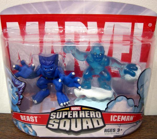 Beast Iceman Super Hero Squad