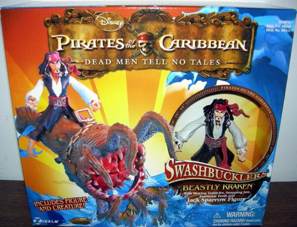 Beastly Kraken Jack Sparrow Swashbucklers Dead Men Tell No Tales