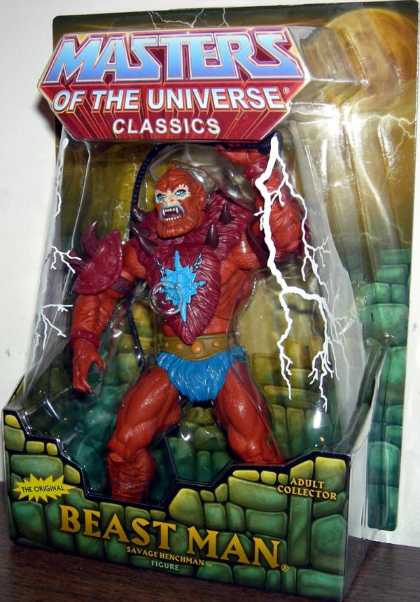 Beast Man Figure Classics Re-Release Original Masters Universe