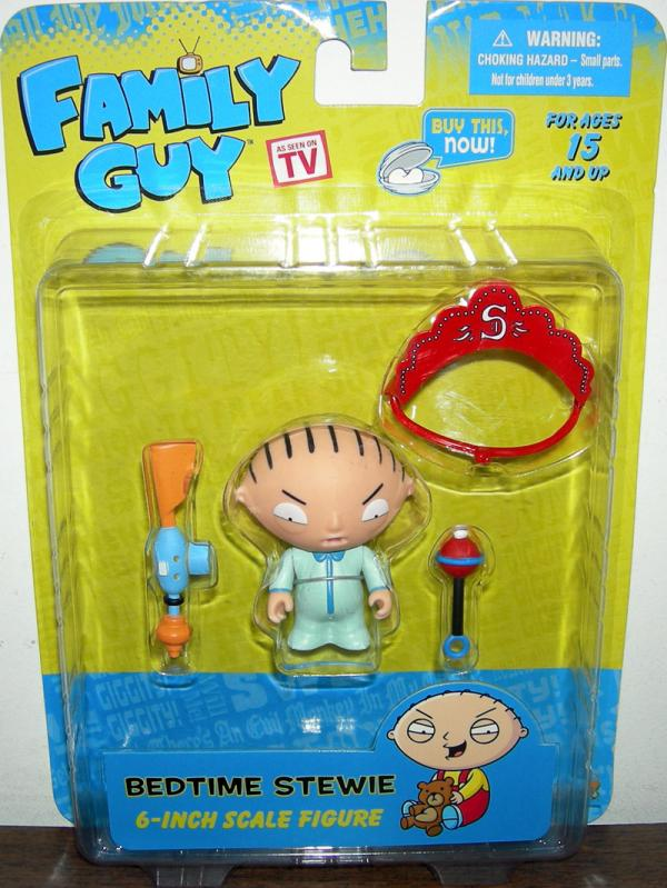 Bedtime Stewie 2010 Family Guy action figure