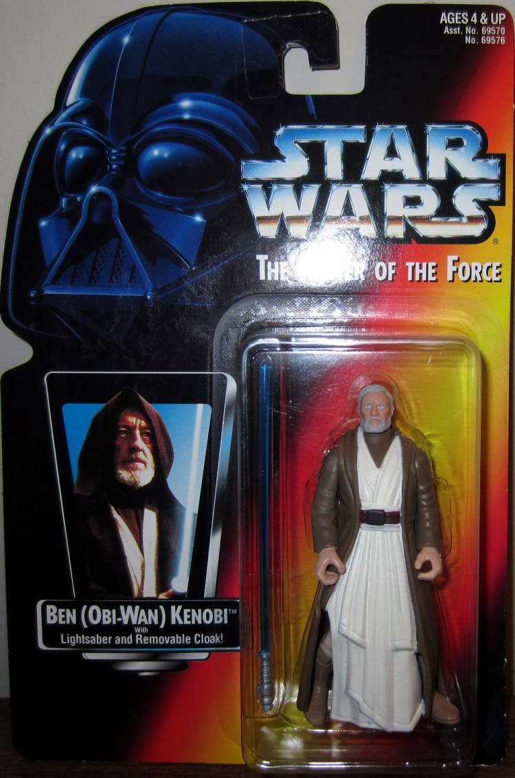 Ben Obi-Wan Kenobi Figure Long Saber Star Wars Power Force