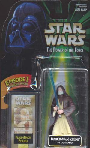 Ben Obi-Wan Kenobi Flashback Photo Star Wars Action Figure