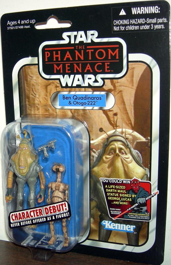 Ben Quadinaros Otoga-222 VC81 Star Wars action figures