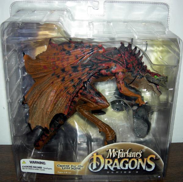 Berserker Dragon Clan 3 Figure McFarlane Toys
