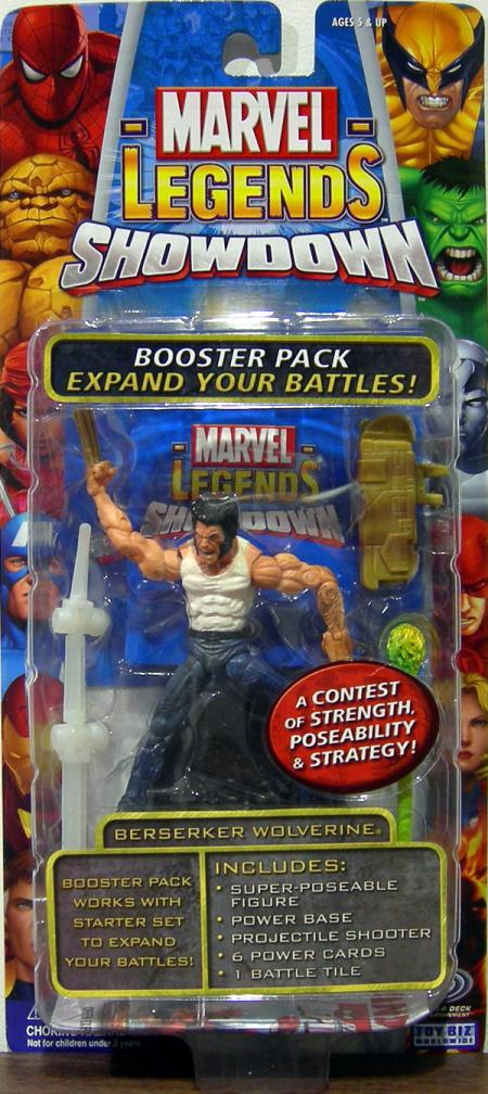 Berserker Wolverine Figure Marvel Legends Super Hero Showdown