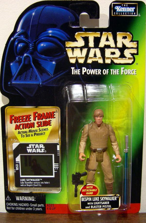 Bespin Luke Skywalker Action Figure Freeze Frame Star Wars