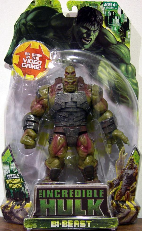 Bi-Beast Action Figure Incredible Hulk Video Game Hasbro