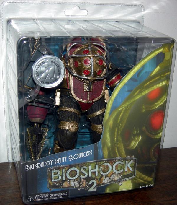 Big Daddy Elite Bouncer Bioshock 2 Toys R Us Exclusive action figure