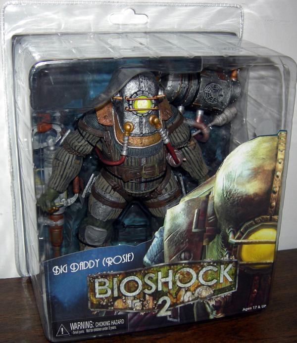 Big Daddy Rosie Bioshock 2 action figure