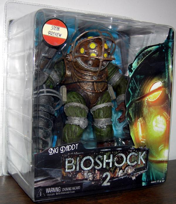 Big Daddy Sneak Preview Bioshock 2 action figure
