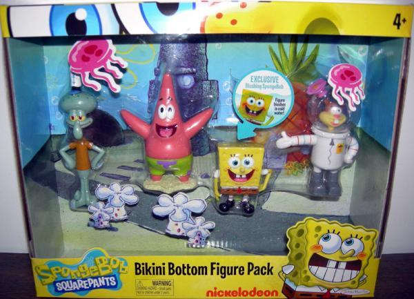 Bikini Bottom Figure Pack