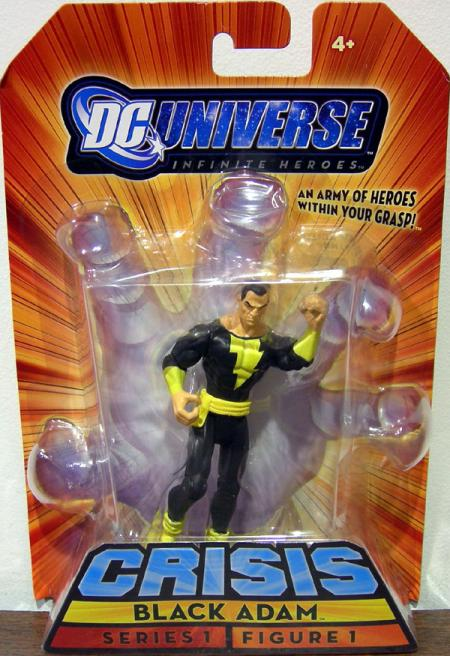 Black Adam Infinite Heroes Crisis Series 1 action Figure 1