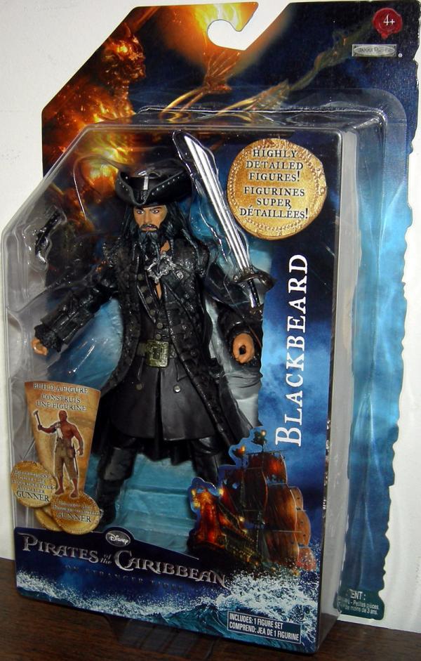 Blackbeard Stranger Tides, build-a-figure