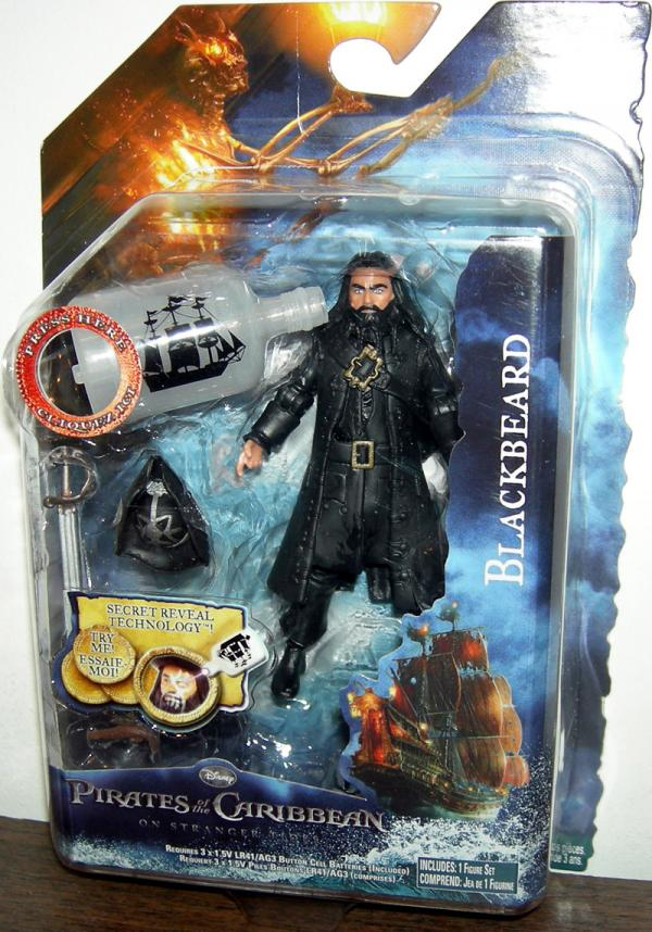 Blackbeard Action Figure with Bottle Stranger Tides Pirates Caribbean